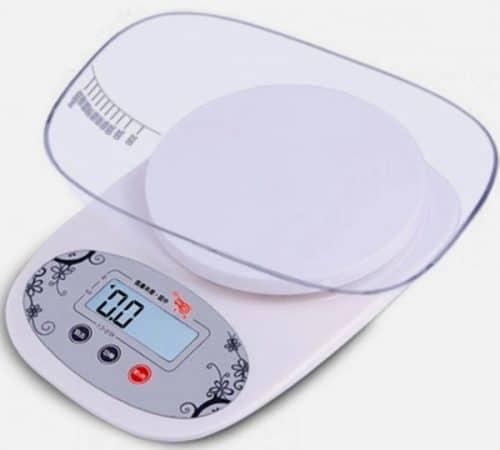 PKFS-1000 konyhamérleg mérőtállal
