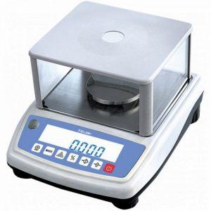 PNB600 hitelesített labormérleg búrával – 600 g