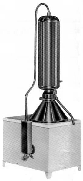 Vízdesztilláló - PLD-103/2