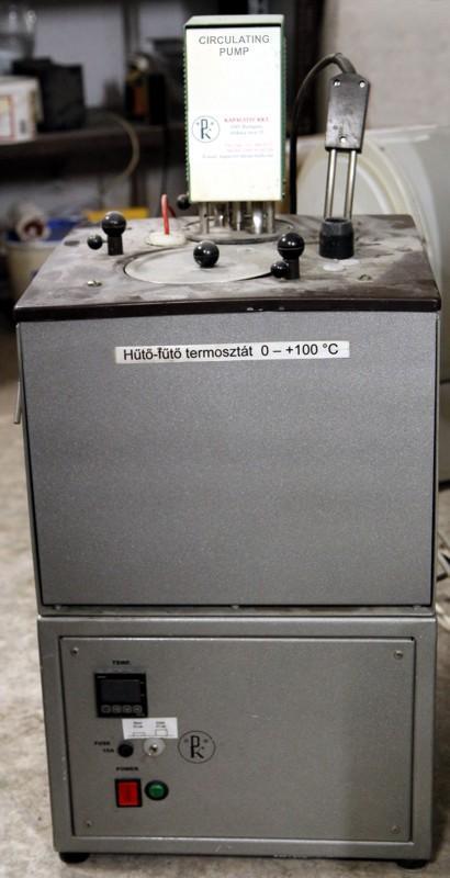 Laboratóriumi hűtő-fűtő termosztát