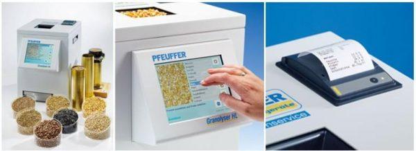 Pfeuffer Granolyser HL Beltartalmi Elemző