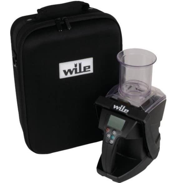 Wile 200 – nedvesség- és hektolitersúly mérő