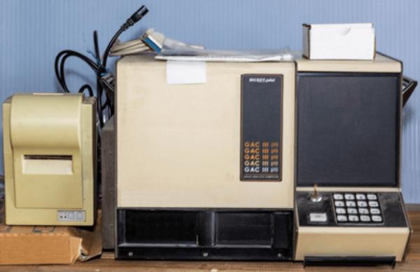 Dickey-John GAC–III asztali termény nedvességmérő