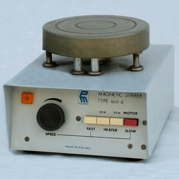 M6 - Fűthető mágneses keverő